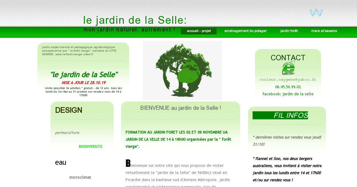 Le jardin de la selle mon jardin au naturel jardin for t for Amenagement jardin foret